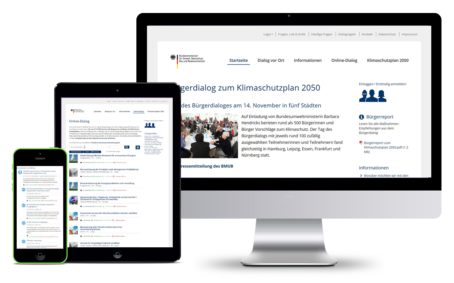 We organise e-participation | ontopica
