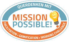 MISSION POSSIBLE!? Logo